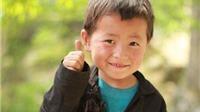 Những nụ cười trẻ em vùng cao