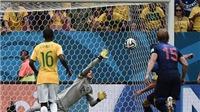 Tan nát 0-3 trước Hà Lan, Brazil lập kỉ lục buồn nhất trong lịch sử