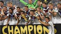 CHÙM ẢNH: Người Đức hân hoan nâng cao chiếc cúp Thế giới lần thứ Tư trong lịch sử