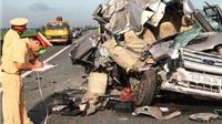 4 người chết, 8 người bị thương trong vụ tai nạn kinh hoàng trên đường cao tốc Trung Lương