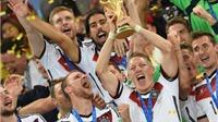 BXH FIFA tháng 7/2014: Đức vươn lên số 1 thế giới, TBN tụt xuống thứ 8. Việt Nam số 2 Đông Nam Á
