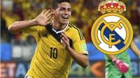 CẬP NHẬT tin tối 18/7: James Rodriguez đến Real vào thứ Hai. Demba Ba chính thức rời Chelsea