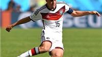 Philipp Lahm giã từ sự nghiệp thi đấu quốc tế: Tạm biệt người khổng lồ tí hon