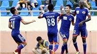 Sân Cẩm Phả, Than Quảng Ninh - Đồng Nai 5-3: 'Bão' bàn thắng