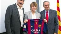 Halilovic sẽ là Xavi mới của Barca?