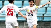 Giải bóng đá nữ VĐQG Cúp Thái Sơn Bắc 2014: ĐKVĐ Hà Nội 1 khẳng định sức mạnh