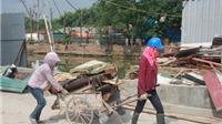 Khẩn trương 'dọn rác' tại Hoàng thành Thăng Long