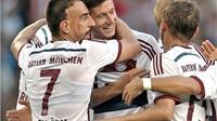 Lewandowski lập cú đúp, Bayern Munich giành chức vô địch Telekom Cup