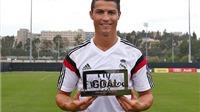 Vượt Robben và Messi, Ronaldo giành giải thưởng Goal 50