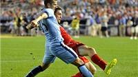 Jovetic lập cú đúp, Man City vẫn thua Liverpool trên chấm 11m
