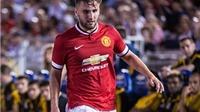 Van Gaal: 'Luke Shaw gặp may mới được chơi ở trận gặp Inter'