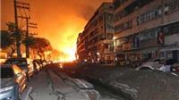 Những hình ảnh kinh hoàng trong vụ nổ khí đốt làm 24 người chết ở Đài Loan