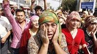 Trung Quốc: 37 dân thường thiệt mạng trong vụ tấn công khủng bố ở Tân Cương