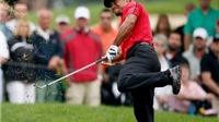 Chấn thương lưng, Tiger Woods phải chống gậy golf để khỏi ngã!