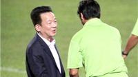 Ông bầu Đỗ Quang Hiển: 'Vô địch thì phải xứng đáng'!
