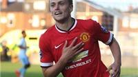 James Wilson 'buộc' Van Gaal phải chú ý: Ghi 4 bàn, hạ đội trẻ Man City!