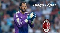 Diego Lopez 99% sẽ chuyển đến AC Milan