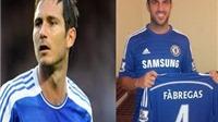 Mourinho: Fabregas sẽ không thay thế cho Frank Lampard