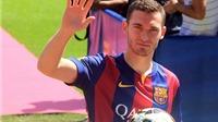 Chưa đá trận nào cho Barca, Vermaelen đã chấn thương