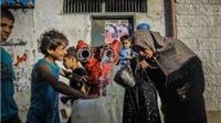 Những hình ảnh bình yên hiếm hoi ở Dải Gaza