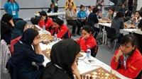 Giải cờ vua đồng đội thế giới 2014: Nữ Việt Nam không thể gây bất ngờ