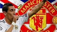 CẬP NHẬT tin chiều 14/8: Real Madrid ra giá 50 triệu euro cho Di Maria. Daley Blind đã tìm nhà ở Anh
