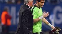'Vua' derby Casillas sẽ thi đấu ở lượt đi Siêu Cúp Tây Ban Nha