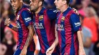 Set tennis của Barca trước Leon: 'Tam giác quỷ' Messi, Neymar, Rakitic thách thức 'BBC' của Real