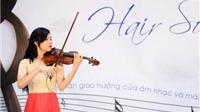 Trình diễn âm nhạc với cây violin có dây vĩ làm từ tóc thật