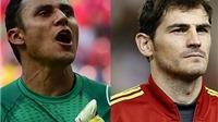 Casillas và Keylor Navas: Ai sẽ bắt trận lượt về Siêu Cúp Tây Ban Nha?