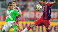 Mueller và Robben nổ súng, Bayern Munich đánh bại Wolfsburg 2-1