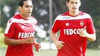 Monaco bị fan đòi vé vì 'phản bội' với lời hứa giữ James Rodriguez và Falcao