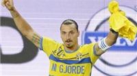 CẬP NHẬT tin sáng 5/9: Ibrahimovic ngoạn mục ghi bàn thứ 50 cho tuyển Thụy Điển. Italy, Pháp thắng ấn tượng