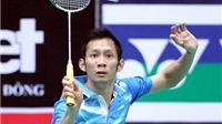 Giải cầu lông Việt Nam Open 2014: Tiến Minh, Vũ Thị Trang rủ nhau bại trận