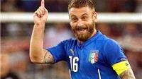 10 năm Daniele De Rossi trên tuyển Italy: Người lấp bóng Pirlo