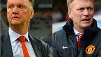 Từ David Moyes tới Louis van Gaal: Đội hình Man United thay đổi chóng mặt