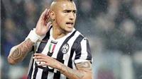 Nếu Juve có Vidal mạnh khỏe…