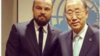 Leonardo Di Caprio tung ảnh 'ngầu' trong lần đầu xuất hiện trên Instagram