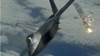 VIDEO: 'Siêu máy bay chiến đấu' F-22 lần đầu không kích các mục tiêu IS