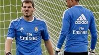 Khung thành của Real Madrid vẫn chưa có chủ nhân đích thực