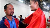 Quách Thị Lan nghẹn lời sau khi giành HCB quý giá