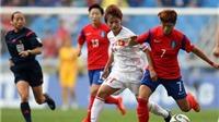 Việt Nam 0-3 Hàn Quốc: Tuyển nữ Việt Nam không thể có HCĐ ASIAD