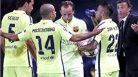 Barca thua trận đầu tiên: Khi bức tường thành sụp đổ