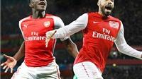 Chấm điểm Arsenal – Galatasaray: Danny Welbeck khởi đầu tốt hơn cả Thierry Henry