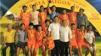 Giải bóng đá Bia Sài Gòn 2014 khu vực Quảng Ninh: Nơi hội ngộ anh tài