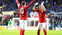 Estonia 0-1 Anh: Khoảnh khắc người hùng của Rooney