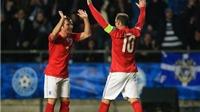 Tiết lộ: Roy Hodgson suýt 'cướp' mất bàn thắng của Rooney
