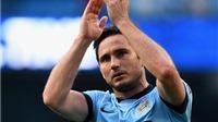 Frank Lampard nhận giải thưởng Cầu thủ xuất sắc nhất tháng Chín của Man City