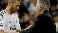Benzema và Varane lỡ trận gặp Levante