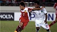 Thua Myanmar 1-2, Lào rơi vào bảng đấu có tuyển Việt Nam